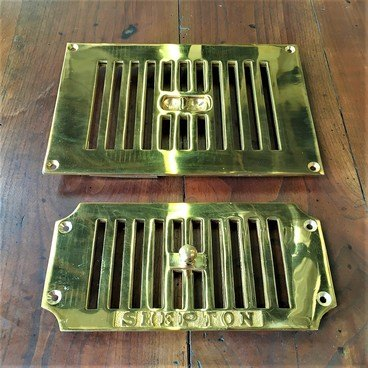 Brass & Chrome Air Vents