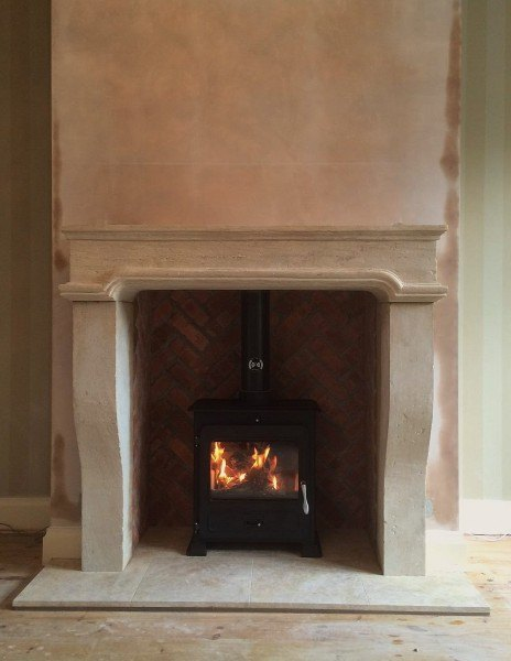 Stone Fireplace Wells Reclamation