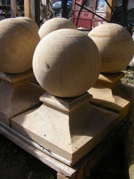 Stone Pier Caps Wells Reclamation