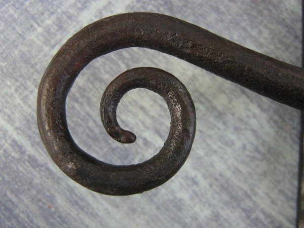 Curly Tail Lever Handle (with key hole)