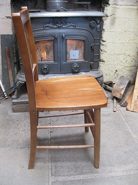 Chapel Style Kitchen Chair