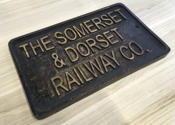 Wooden Sign (SOMERSET & DORSET)