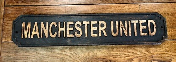 Wooden Sign (Manchester United)