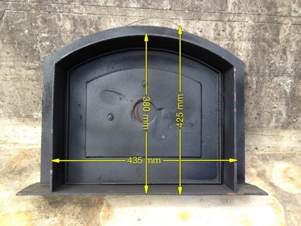 Pizza Oven Door Wells Reclamation