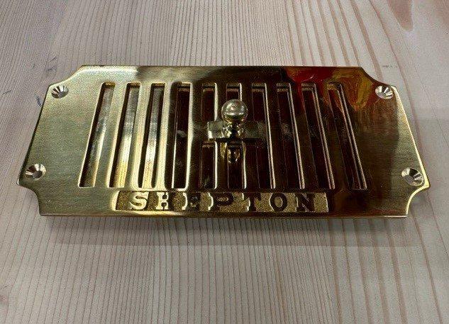 Chrome Door Knobs >> Brass air vent - Wells Reclamation