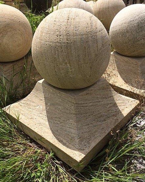Stone Gate Caps Or Pier Caps Wells Reclamation