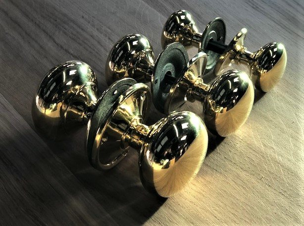 Brass Door Knob Wells Reclamation
