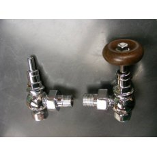 Chrome Radiator Valve