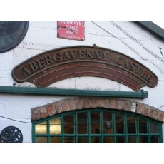Railway Engine Name Plate (Abergavenny Castle)