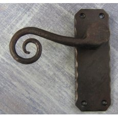 Curly Tail Lever Handle (no key hole)