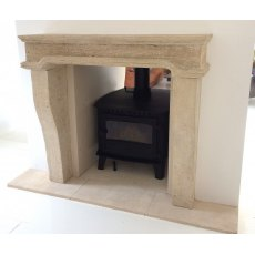 Stone Fireplace (French)