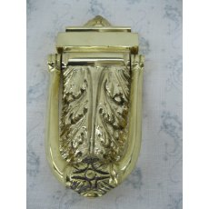 Acanthus Door Knocker (Brass)