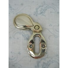 Brass Escutcheon (Teardrop)