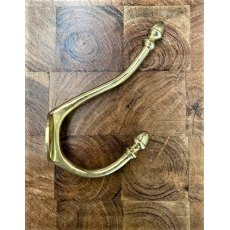 Brass Hat & Coat Hook (Acorn)