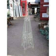 Medium Flower Garden Obelisk