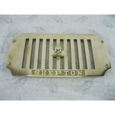 Brass Air Vent (Hit & Miss 8' x 4')