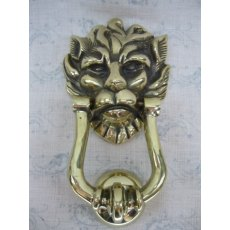 Lion Door Knocker (Snarly)