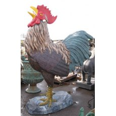 Cast Iron Cockerel (Enormous)