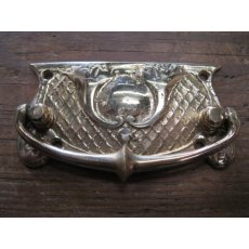 Brass Plate Handle (Lattice)