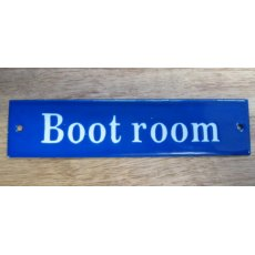 Enamel Sign (Boot room)