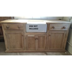 Oak Kitchen Sink Unit