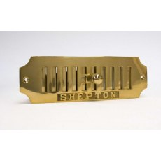 Brass Air Vent (Hit & Miss 8' x 2.5')