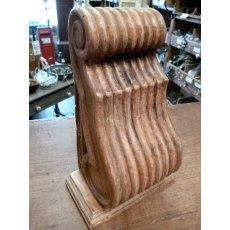 Wooden Corbel (Reeded - Fruit Wood)