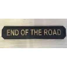 Wooden Sign (End of the Road)