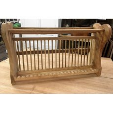 Hardwood Plate Rack (765mm)