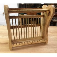 Hardwood Plate Rack (455mm)