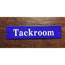 Enamel Sign (Tackroom)