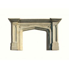 Stone Fireplace (English Gothic)