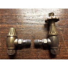 Thermostatic Radiator Valves (Antique Brass)