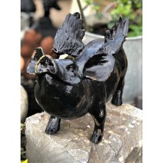Cast Iron Flying Pig