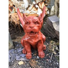 Cast Iron Winged Gargoyle
