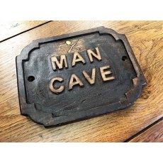 Wooden Sign (Man Cave)