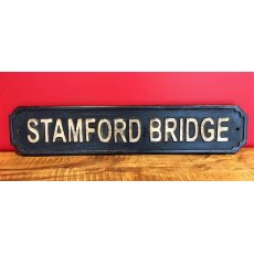 Wooden Sign (Stamford Bridge)