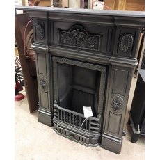 Cast Iron Victorian Style Bedroom Fireplace