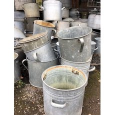 Reclaimed Galvanised Bucket