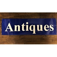 Enamel Sign (Antiques)