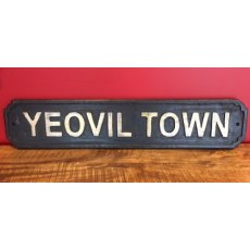 Wooden Sign (Yeovil Town)