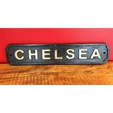 Wooden Sign (Chelsea)