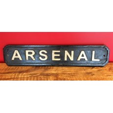 Wooden Sign (Arsenal)