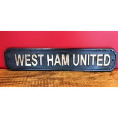 Wooden Sign (West Ham United)