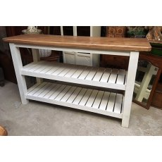 Hardwood Shelving Unit