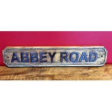 Wooden Sign (Abbey Road)
