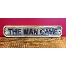 Wooden Sign (The Man Cave)
