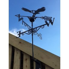 Black Weathervane (Owl)