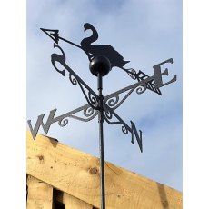 Black Weathervane (Swan)