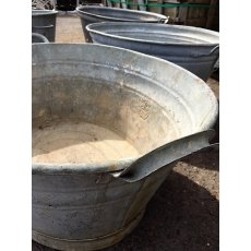 Vintage Galvanised Baths & Buckets